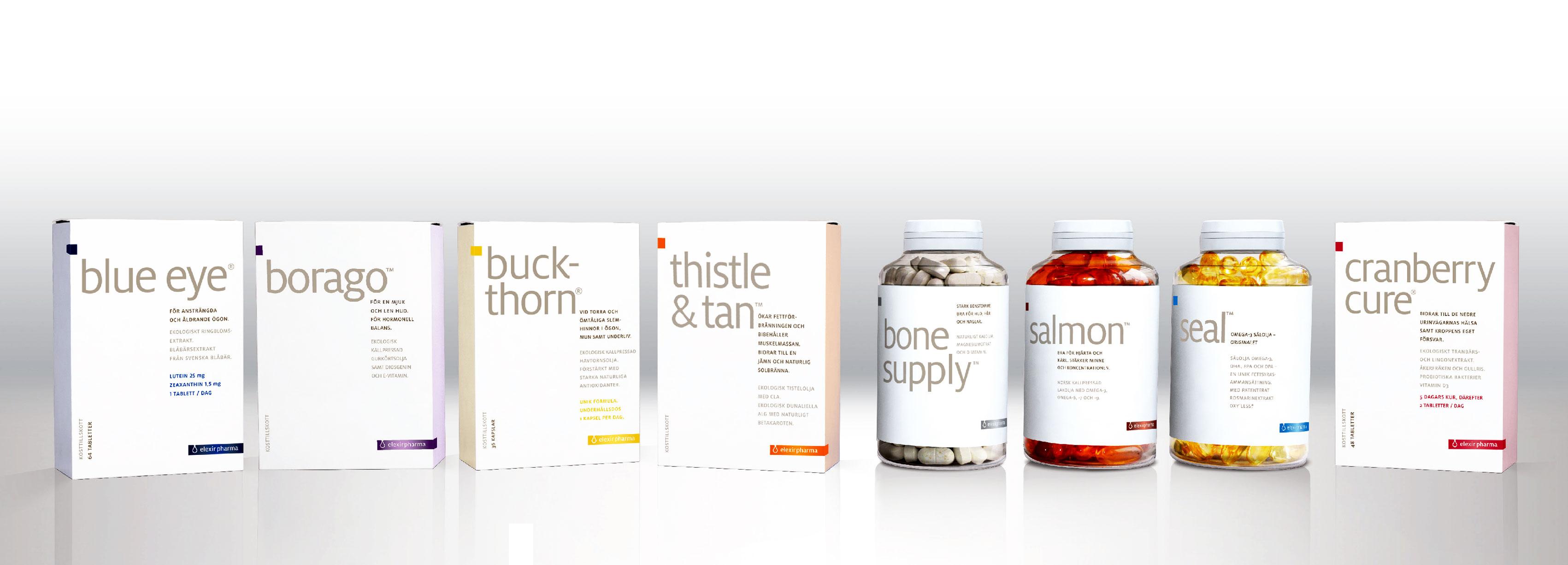 elexir pharma packaging grafisk design broden design