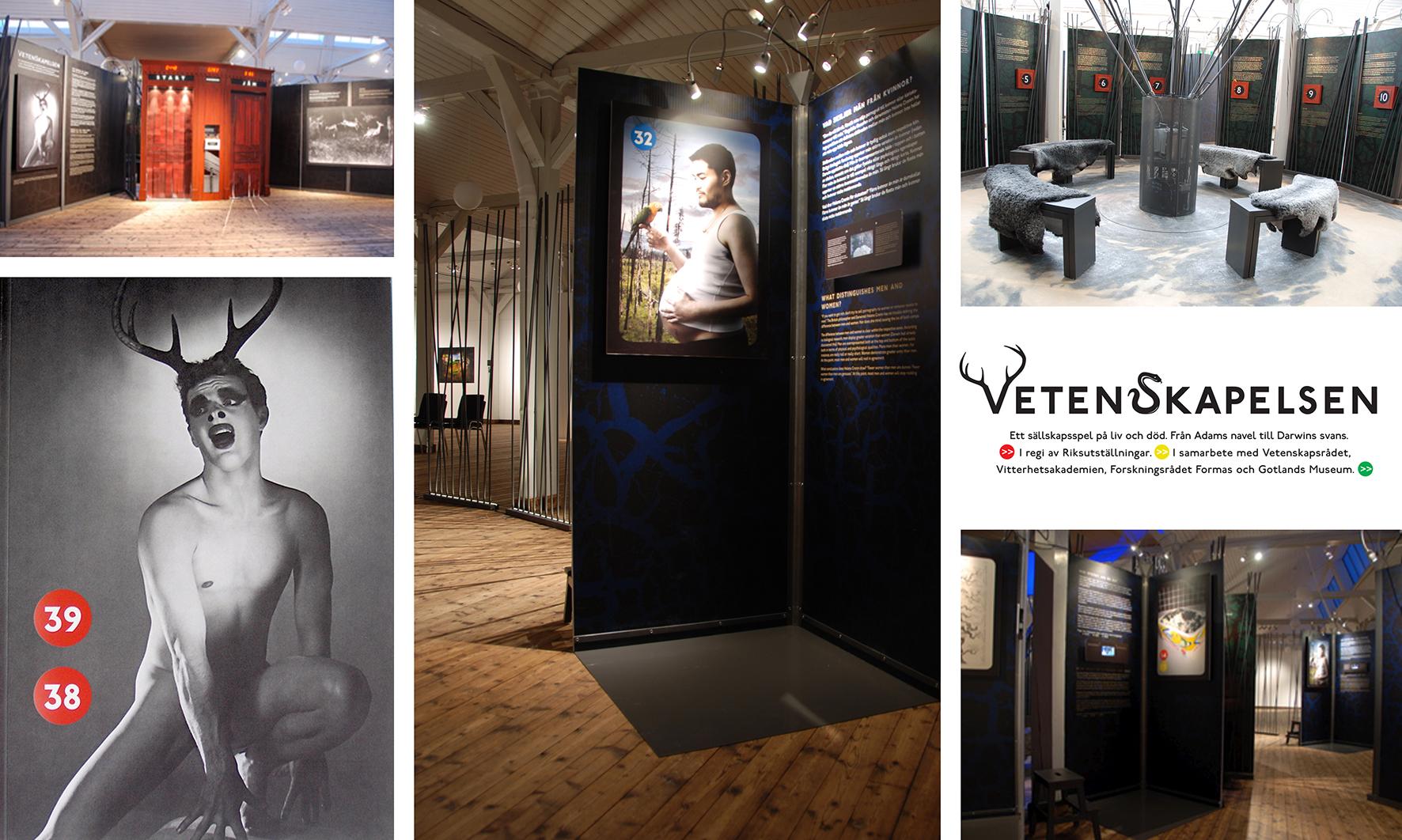Vetenskapelsen exhibition